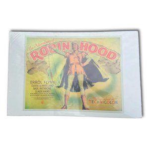 Original Vintage Wrapped Robinhood Movie Poster